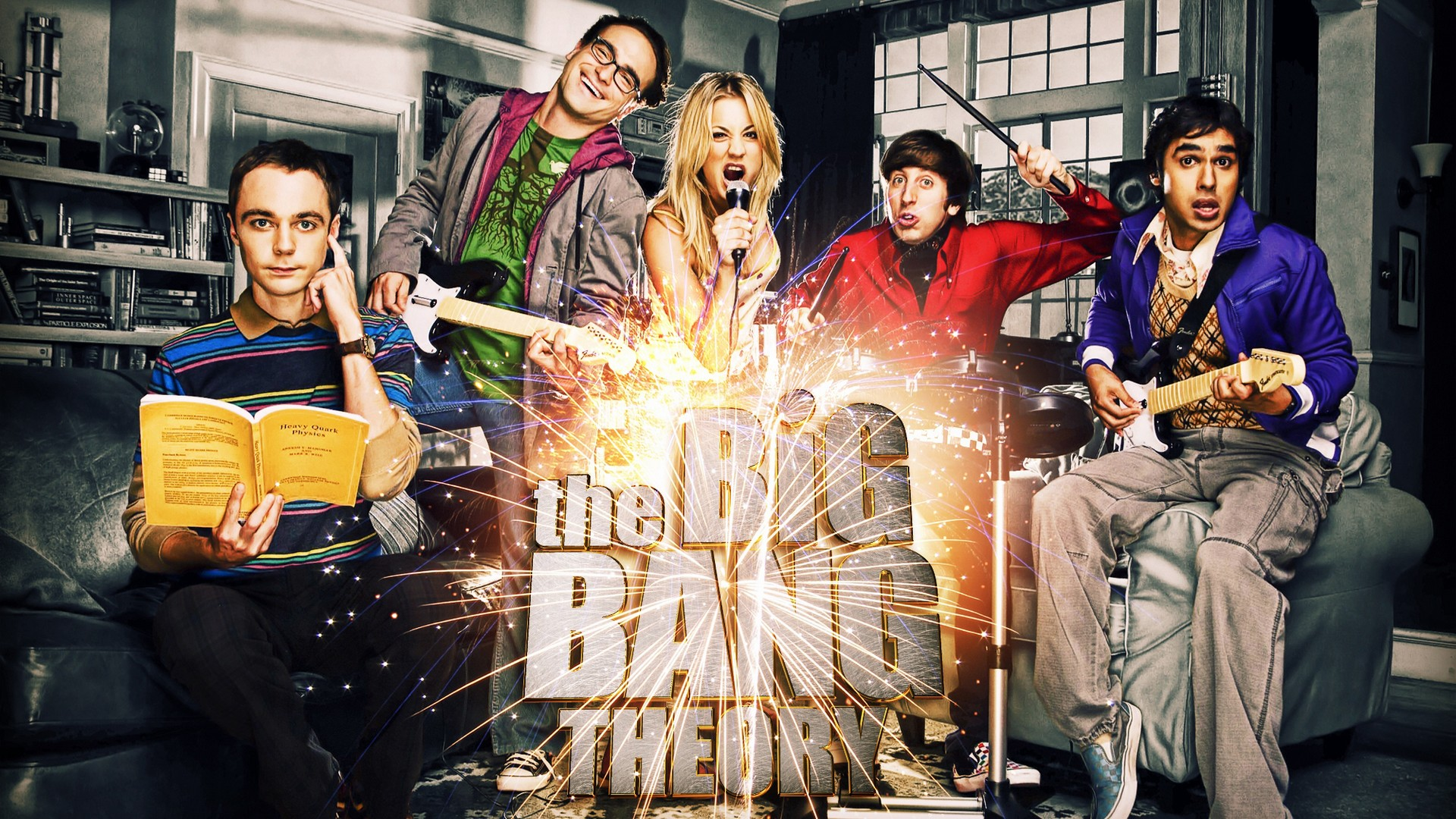 Big Bang Theory HD Wallpaper 007