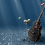 Underwater_Guitar_by_devilp3nguin