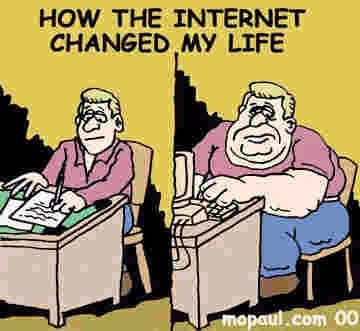 Life before and after internet