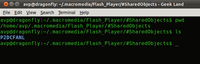 Location of Flash cookies in Linux Mint, Ubuntu