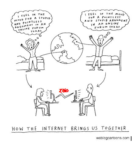 Internet and friends