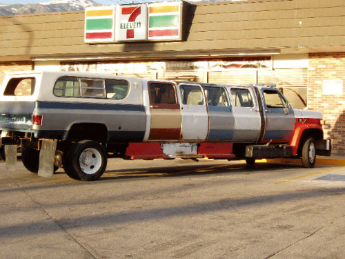 Poor Geek's Stretch Limousine