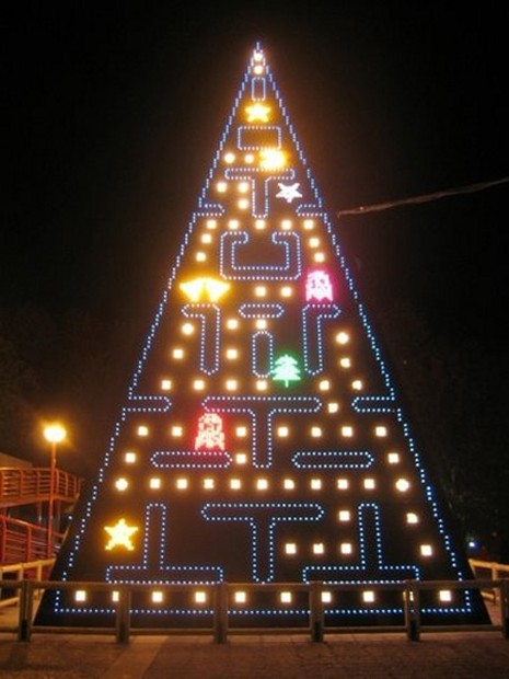 Geeky christmas tree