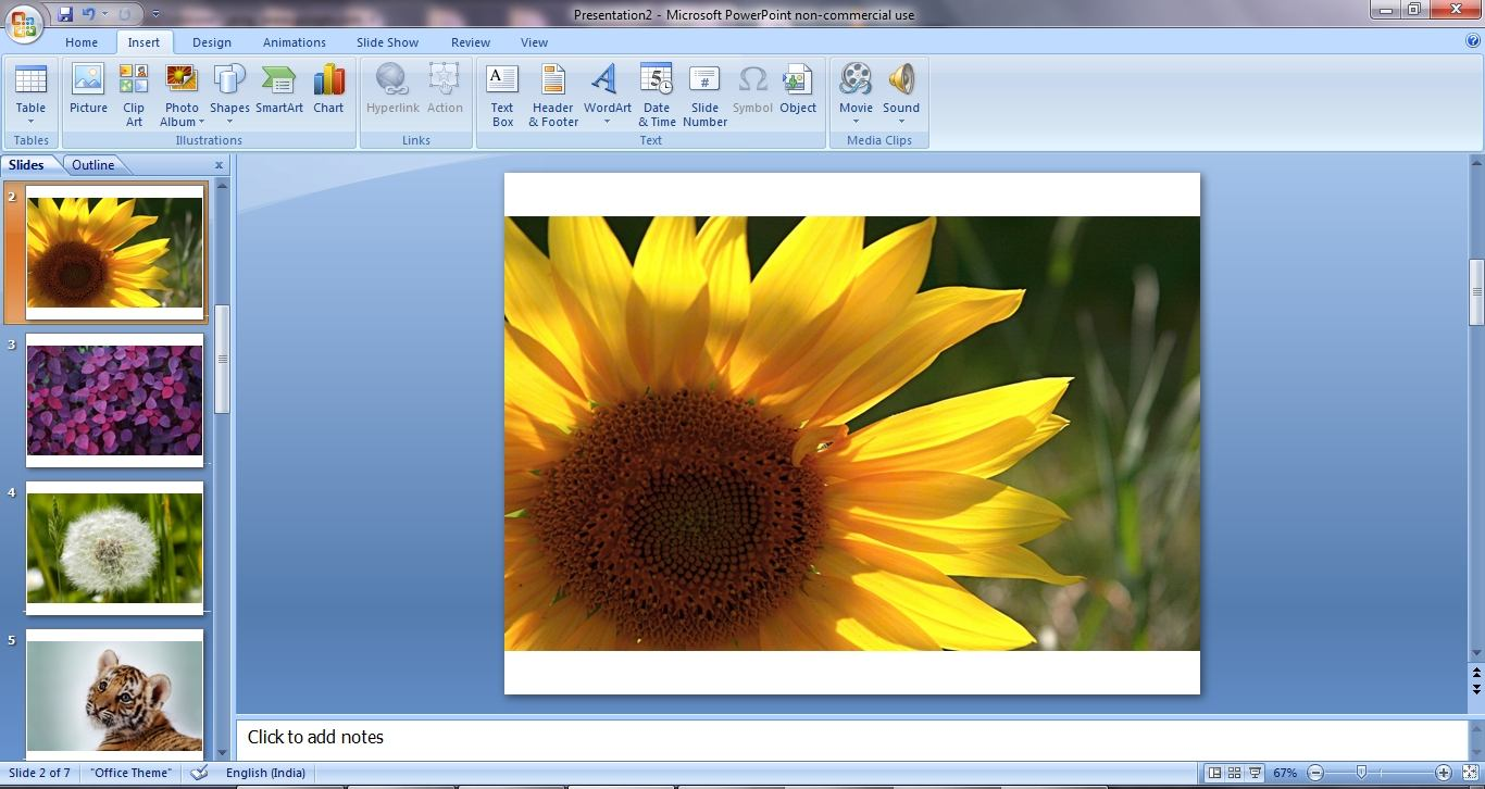 How To Insert Multiple Photos As Slides In Powerpoint 2007 or 2010_005