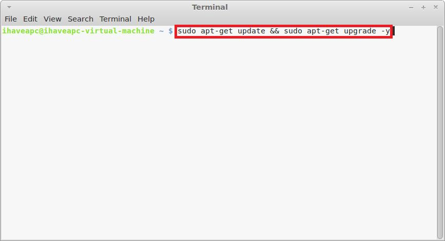 How To Quickly Update Linux Mint / Ubuntu With A Single Command