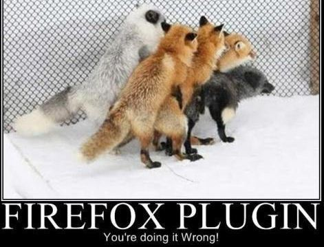 Firefox Plugin Gone Horribly Wrong