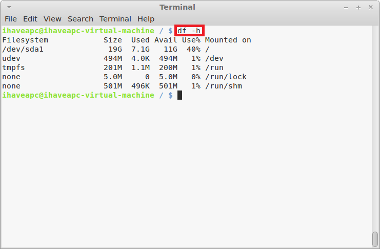 How To Quickly View Partition Utilization In Linux