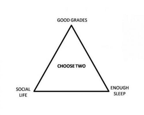 The geek student dilemma