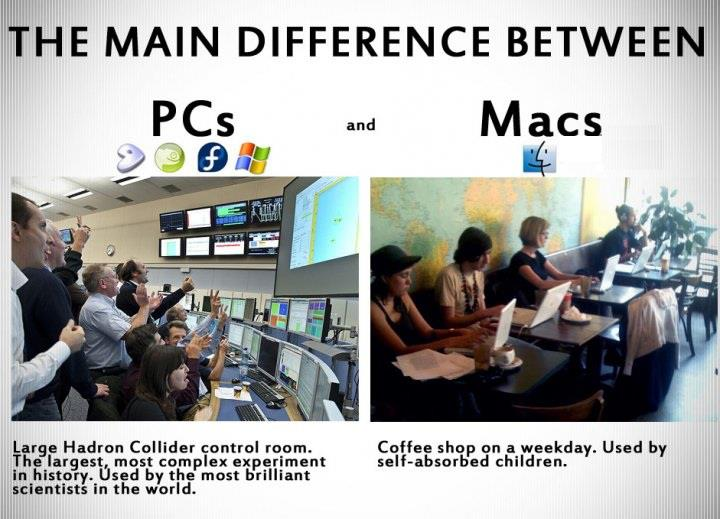 PC v/s Mac humor : Main Difference
