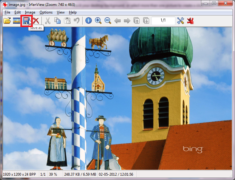 How To Quickly Save Bing Desktop Wallpapers In Windows 7