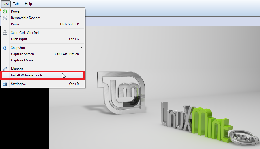 How To Install VMware Tools In Linux Mint 13