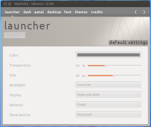 How To Customize Unity Desktop In Ubuntu 12.04 LTS 'Precise Pangolin'