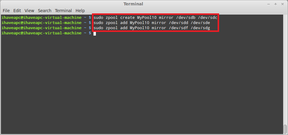 Installing And Using ZFS In Linux Mint / Ubuntu – Part 3