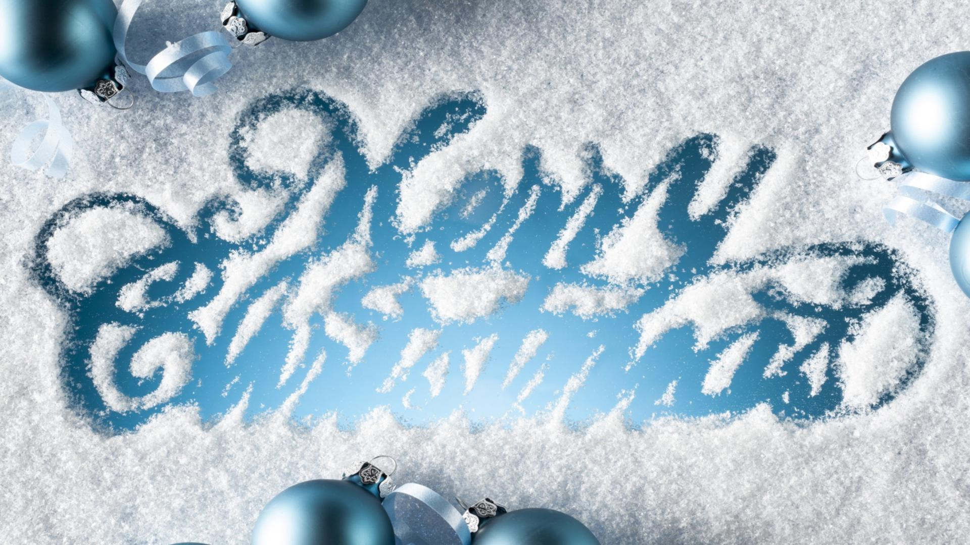 Merry Christmas 2012 HD Wallpaper 12