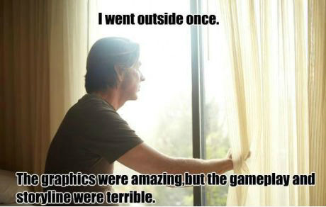 How a gaming geek views life