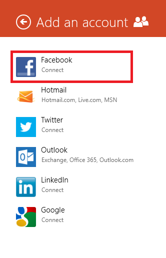 How To Easily Add Facebook, Twitter and LinkedIn Accounts To Windows 8
