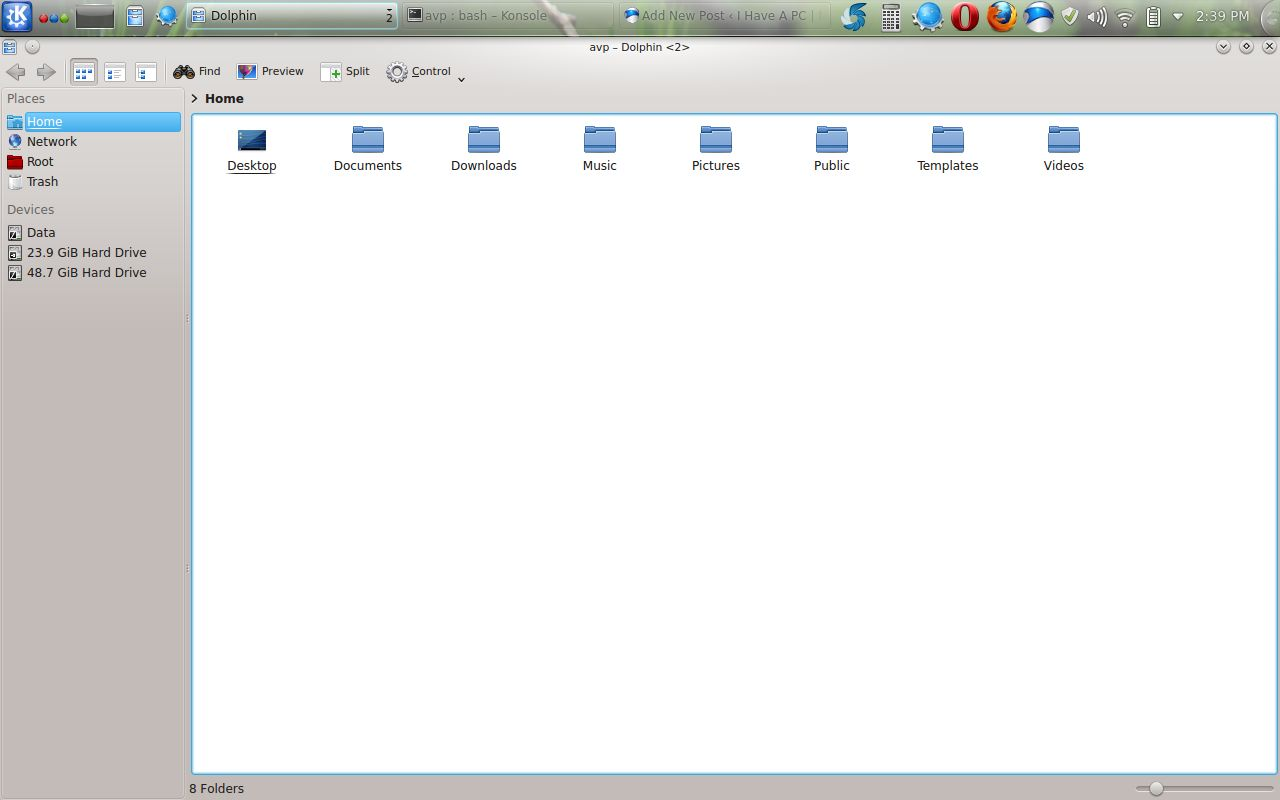 KDE file manager