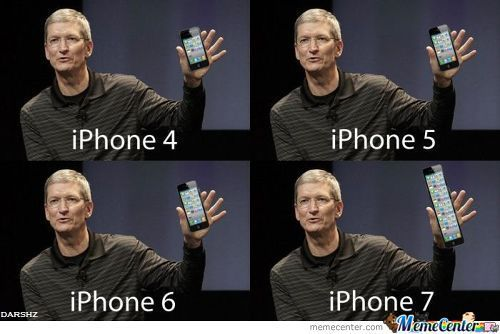 The evolution of iphones : funny