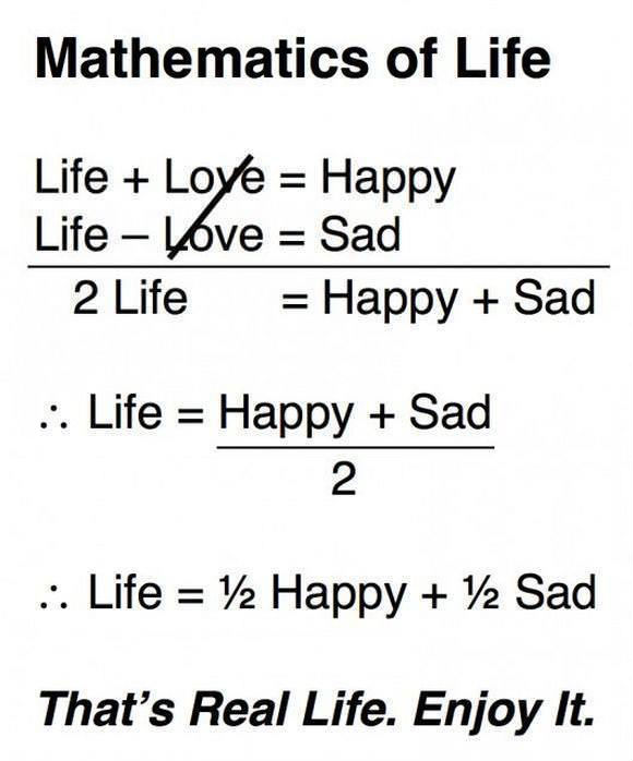The maths of life