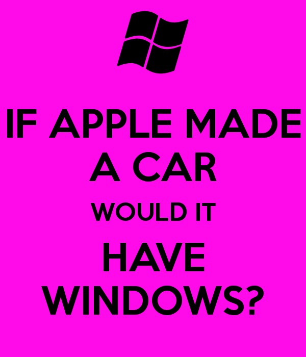 if apple made a car : funny