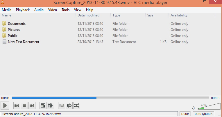 screen capture video output from Apowersoft Free Screen Recorder