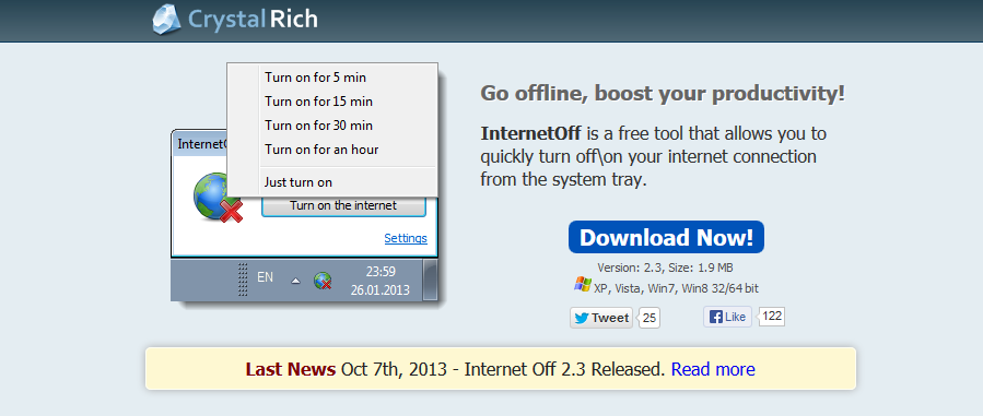 Download InternetOff