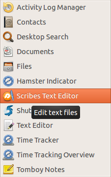 Scribes Text Editor