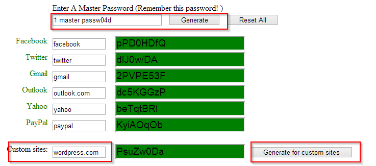 getmeapassword master password tool