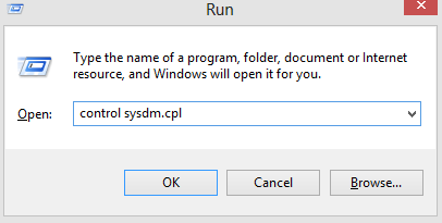 Accessing system properties in Windows through keyboard shortcut
