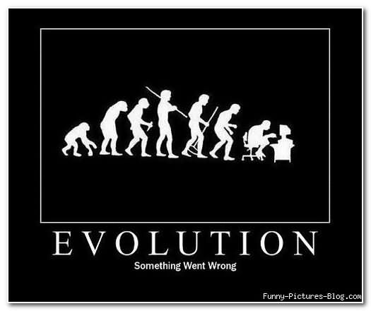 when evolution took a detour : funny