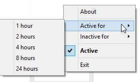 Change activity settings for Caffeine