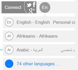 translate wikipedia articles into different languages when using wiki add-on