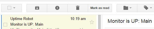 gmail with preview pane