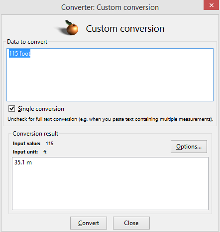choosing custom conversion values