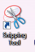 Windows 8 desktop shortcut for snipping tool