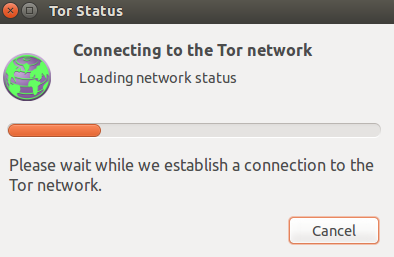establishing Tor network connection