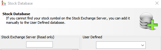 editing JStock database for stocks