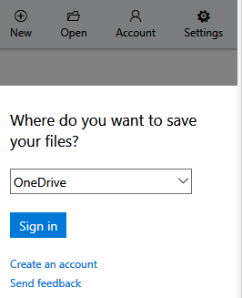 choosing storage location for office online files using the Edge extension