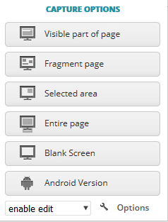 screenshot options in nimbus