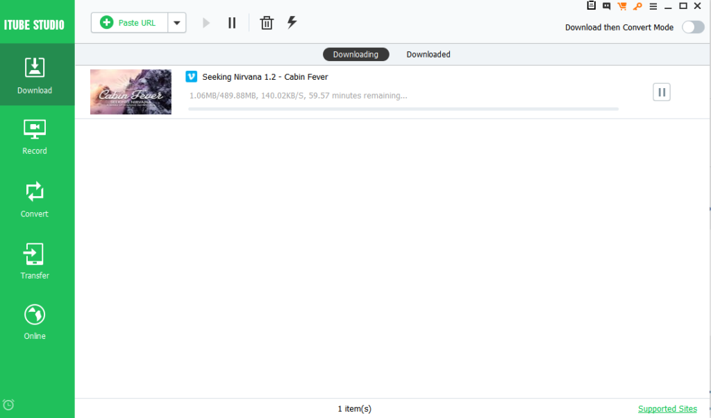 downloading video and audio files from vimeo using itube studio