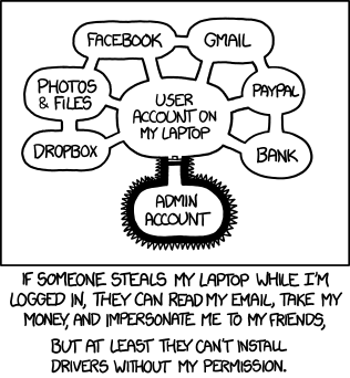 importance of admin password : funny