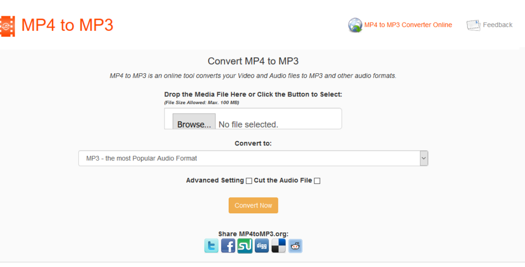 mp4tomp3 conversion online tool