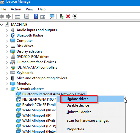 adding drivers from Device Manager