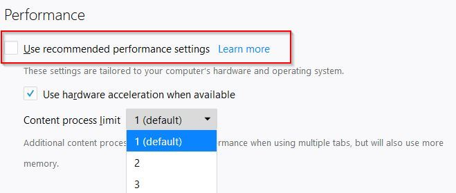 changing content process limit in firefox quantum
