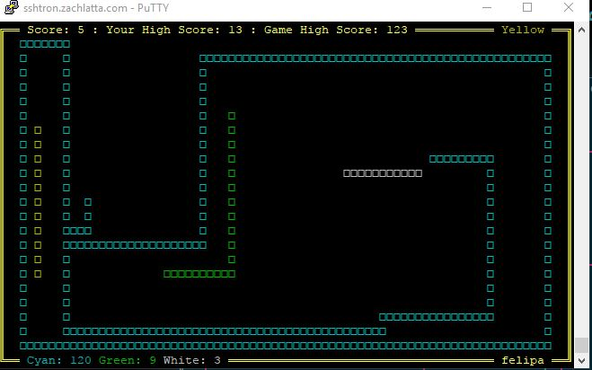 ssh tron multiplayer game