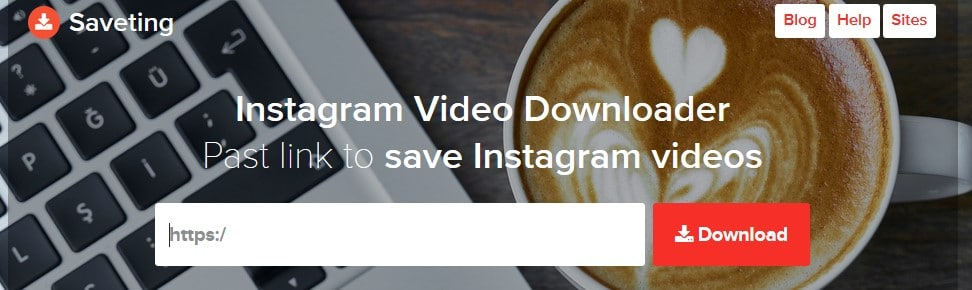 saveting video downloader