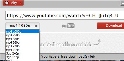 choosing youtube videos for downloading