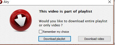 playlists and individual videos too can be downloaded