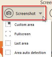 screenshot area selection using Icecream Screen Recorder