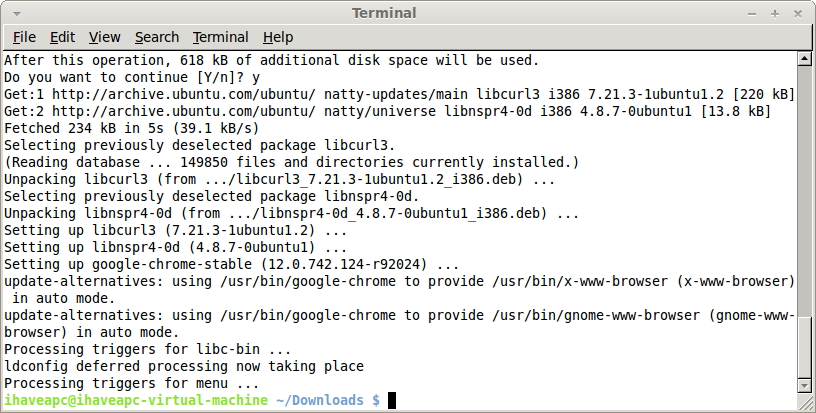 how to use linux command in browser